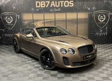 Vente Bentley Continental GTC Supersports 6.0 W12 Occasion