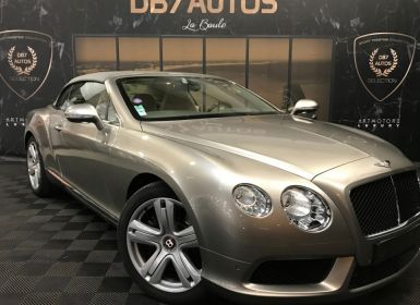 Acheter Bentley Continental GTC V8 4.0 507 ch A Occasion