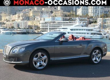 Voiture Bentley Continental GTC W12 6.0 Occasion