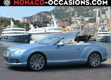 Vente Bentley Continental GTC W12 6.0 Speed Occasion
