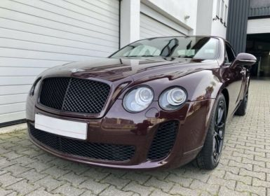 Vente Bentley Continental S Supersports cabriolet  Occasion