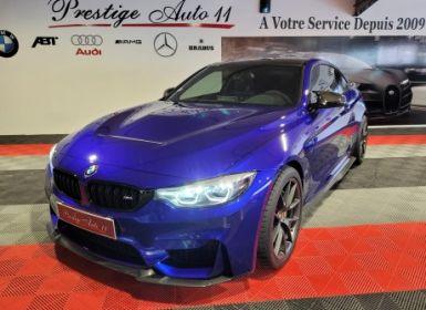 Vente BMW M4 CS 460 CV DKG Full Carbon Origine France LOA 921,94 Eur/ Mois Capristo Volant Led PAs de Taxe CO2 Occasion
