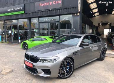 Vente BMW M5 competition 1er main entretien full garantie Occasion