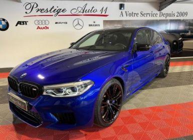 Achat BMW M5 Compétition Origine France Première Main MALUS INCLUS LOA 1.100 / Mois Occasion