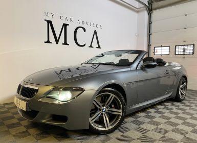 BMW M6 cabriolet v10 507ch e64 2007 Occasion