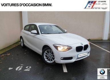 BMW Série 1 114d 95ch Lounge 3p Occasion