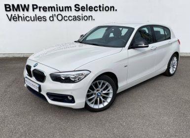 Vente BMW Série 1 116d 116ch Sport 5p Occasion