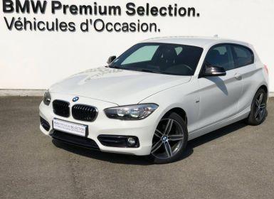 Achat BMW Série 1 116dA 116ch Sport 3p Occasion
