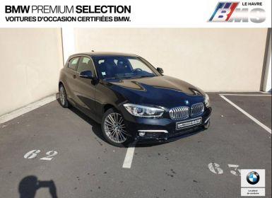 Achat BMW Série 1 116dA 116ch UrbanChic 3p Euro6c Occasion