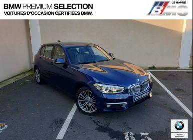 Voiture BMW Série 1 116dA 116ch UrbanChic 5p Occasion