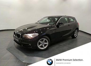 Vente BMW Série 1 116i 109ch Lounge 3p Occasion