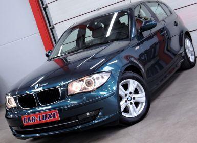 BMW Série 1 118 I 143CV BOITE AUTO GPS XENON CUIR FAIBLE KM EURO5