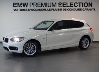Vente BMW Série 1 118dA 150ch Sport 3p Occasion