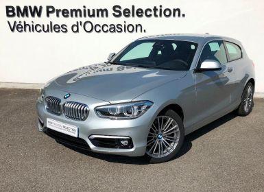 Achat BMW Série 1 118dA 150ch UrbanChic 3p Euro6c Occasion