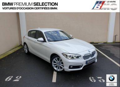 Achat BMW Série 1 118i 136ch UrbanChic 5p Occasion