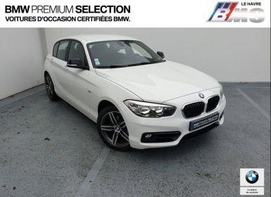 Vente BMW Série 1 118iA 136ch Sport 5p Occasion