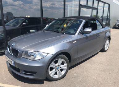 Vente BMW Série 1 E88 Cabriolet 118d 143 ch Luxe Occasion