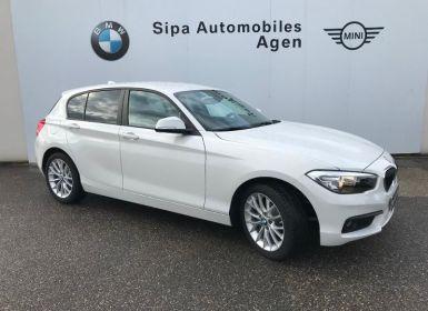 BMW Série 1 Serie 114d 95ch Lounge 5p Euro6c Occasion