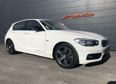 Vente BMW Série 1 SERIE 118D SPORT STEPTRONIC 150cv 5P BVA FAP Occasion