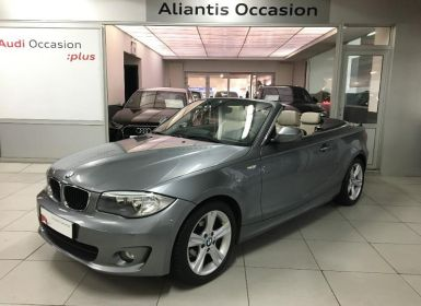 Voiture BMW Série 1 Serie Cabriolet 118d 143ch Luxe Occasion