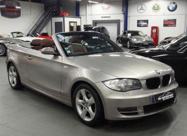 BMW Série 1 SERIE CABRIOLET (E88) 120IA 170CH LUXE Occasion