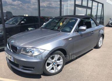 BMW Série 1 SERIE E88 CABRIOLET (E88) CABRIOLET 118D 143 LUXE Occasion
