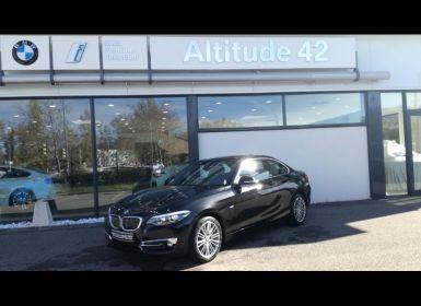 Achat BMW Série 2 218dA 150ch Luxury Euro6c Occasion