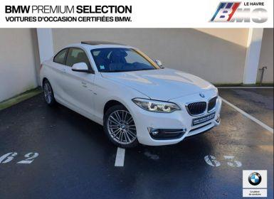 Achat BMW Série 2 218dA 150ch Luxury Euro6d-T Occasion