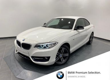 Vente BMW Série 2 218dA 150ch Sport Occasion