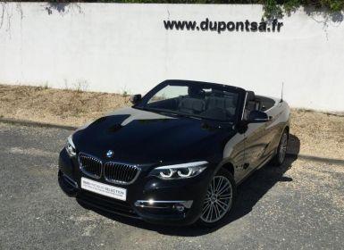 Vente BMW Série 2 220iA 184ch Luxury Occasion