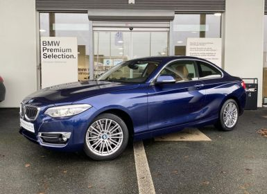 Achat BMW Série 2 220iA 184ch Luxury Euro6d-T Occasion