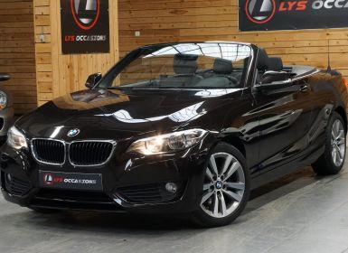 Vente BMW Série 2 (F23) CABRIOLET 220D LUXURY BVA8 Occasion
