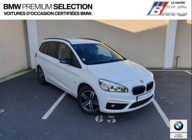 Achat BMW Série 2 Gran Tourer 216i 102ch Sport Occasion