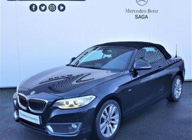 Vente BMW Série 2 Serie Cabriolet 218dA 150ch Luxury Occasion