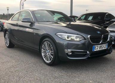 Vente BMW Série 2 Serie Coupe 218dA 150ch Luxury Euro6d-T Occasion