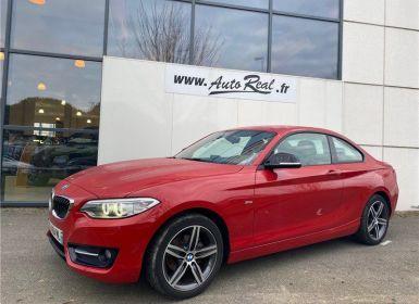 Vente BMW Série 2 Serie Coupé 218i 136 ch Sport Occasion