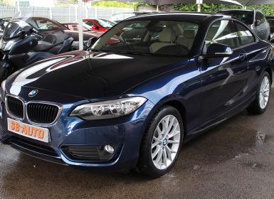 Achat BMW Série 2 SERIE COUPE (F22) 218DA 143CH LOUNGE Occasion