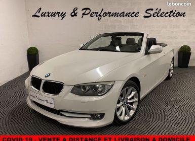 Vente BMW Série 3 serie 320d 320 da cabriolet luxe francaise suivi concession Occasion