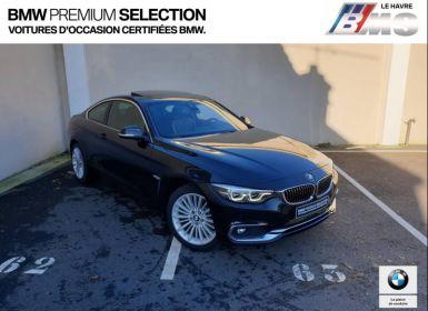 Vente BMW Série 4 420iA xDrive 184ch Luxury Neuf