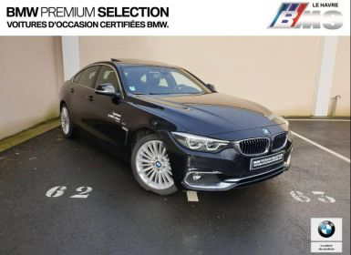 Achat BMW Série 4 Gran Coupe 420iA 184ch Luxury Occasion