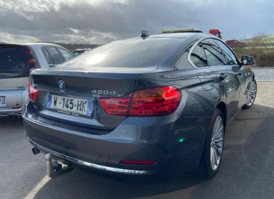Vente BMW Série 4 Gran Coupe F36 420d xDrive 184 ch Luxury Occasion