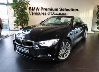 Vente BMW Série 4 Serie Cabriolet 420dA 190ch Luxury Occasion
