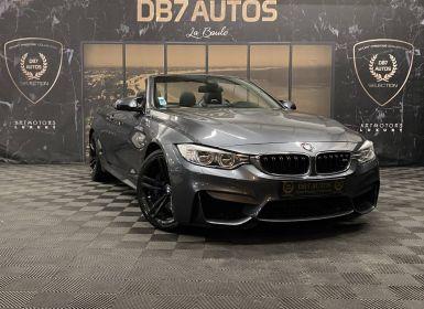 Vente BMW Série 4 SERIE M4 F83 M4 F83 Cabriolet Occasion