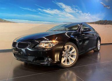 Vente BMW Série 6 630 i Coupé benzine 272pk Sportautomaat - Leder - Navi Occasion