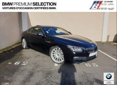 Achat BMW Série 6 640dA 313ch Exclusive Occasion