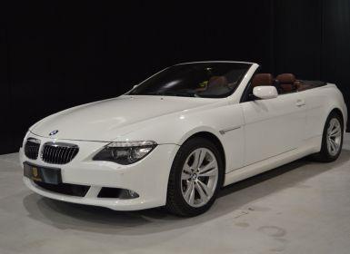 Vente BMW Série 6 650 i cabriolet 367 ch ! Superbe état !! Occasion