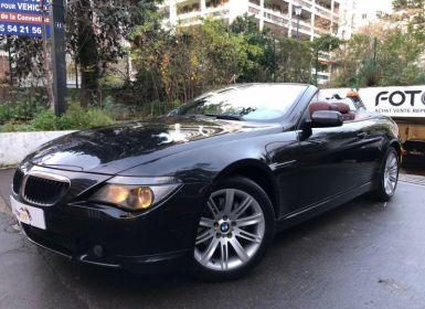 Vente BMW Série 6 (E64) 630CIA 258CH Occasion