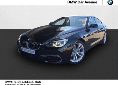 Achat BMW Série 6 Gran Coupe 640dA 313ch Lounge Plus Occasion