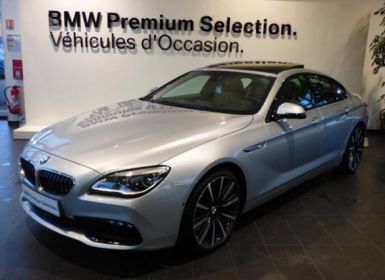 Vente BMW Série 6 Gran Coupe 640dA xDrive 313ch Exclusive Occasion