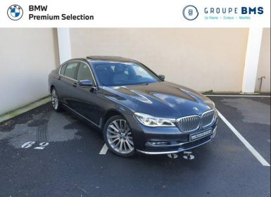 Voiture BMW Série 7 730dA xDrive 265ch Exclusive Occasion
